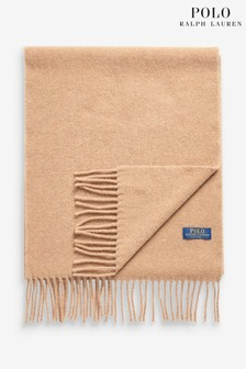 Polo Ralph Lauren® Camel Virgin Wool Scarf