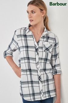 Barbour® White Skysail Check Shirt