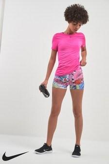 """Nike Pro Hyper Femme Floral 3"""" Short"""