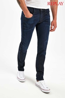 Replay® Anbass Hyperflex Clouds Slim Fit Jeans