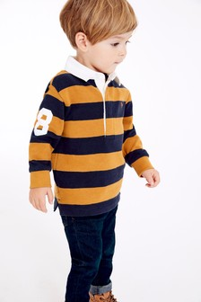 Long Sleeve Rugby Top (3mths-7yrs)