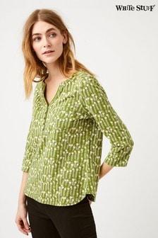 חולצת ג'רזי ירוקה דגם Delilah של White Stuff