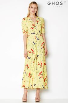 Ghost London Sunday Flowers Marley Printed Maxi Dress