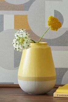 Ochre Ceramic Vase