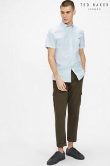Ted Baker Tanas Short Sleeve Stripe Shirt
