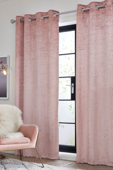 Metallic Speckle Eyelet Curtains
