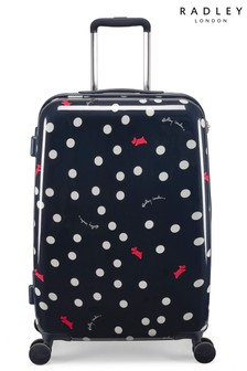 Radley Vintage Dog Dot Suitcase Medium