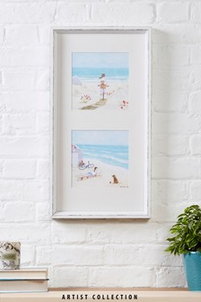 Artist Collection Beach by Hannah Cole Frame