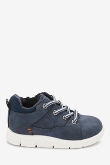 Sporty Lace-Up Boots (Younger)