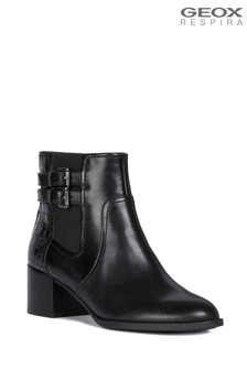 Geox Women's Jacy Black Boot