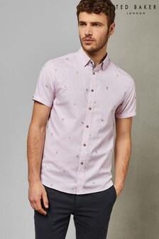 09a75057d1d1 Buy Men s shirts Shortsleeve Shortsleeve Shirts Tedbaker Tedbaker ...