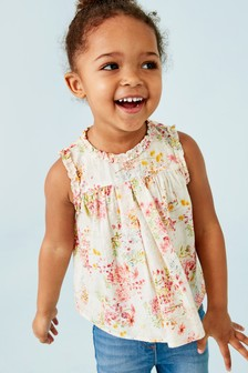 Sleeveless Collar Blouse (3mths-7yrs)