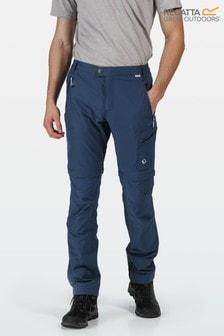 Regatta Blue Highton Zip Off Trousers