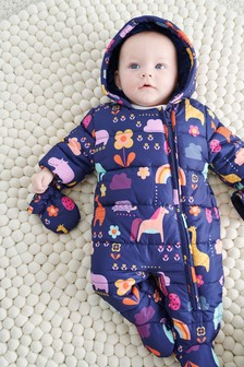 Print Pramsuit (0mths-2yrs)
