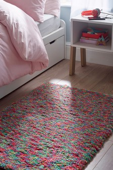 Multicolour Supersoft Rug