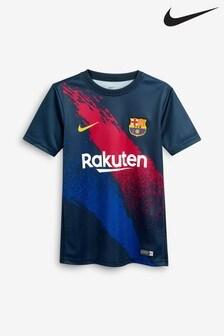 Nike Dry Navy FC Barcelona Tee