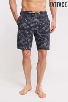 FatFace Blue Camber Hawaii Print Swimmers