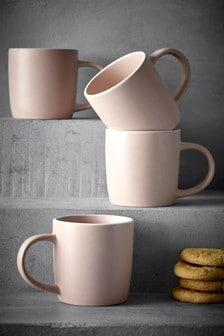 Set of 4 Hutton Mugs