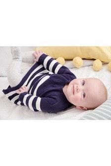 條紋針織洋裝 (0個月至2歲)