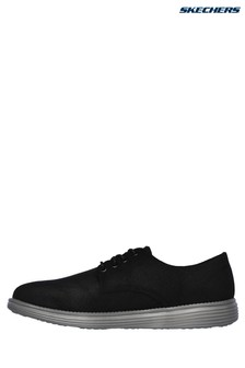 Skechers® Black Status-Rolano Shoe