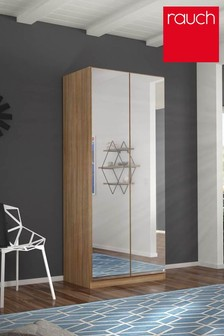Cameron Oak Effect Double Hinged Wardrobe by Rauch