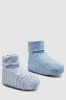 Booties Two Pack (0-18mths)