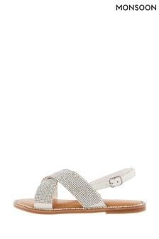 Monsoon Diamanté Sandals