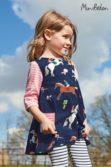 Boden Navy Printed Tunic