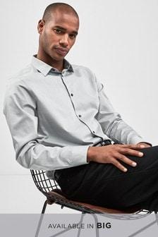 Тонированная рубашка с длинным рукавом