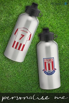 Personalised Stoke City Water Bottle by Personalised Football Gifts