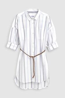 1e7da1c3591 Stripe Belted Shirt (3-16yrs)