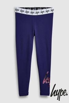 Hype. Purple Print Script Legging