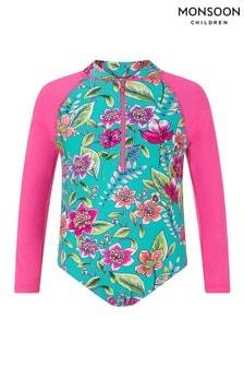 Monsoon Green Hallie Sunsafe Swimsuit