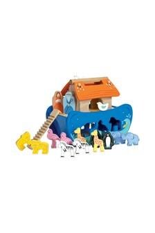 Le Toy Van Wooden Noahs Shape Sorter