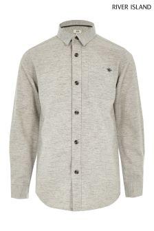 River Island Herringbone Pocket Shirt