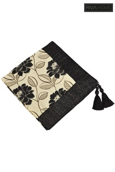 Mayflower Floral Tassel Throw by Riva Home