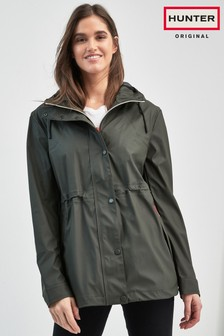 Hunter Olive Lightweight Rubberised Jacket
