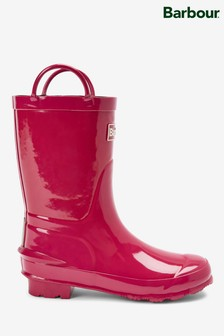 Barbour® Pink Durham Wellies