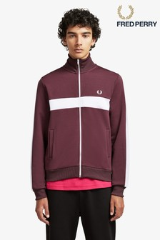 Fred Perry Contrast Panel Track Top