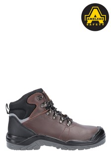 Amblers Safety Brown AS203 Laymore Water Resistant Leather Safety Boots
