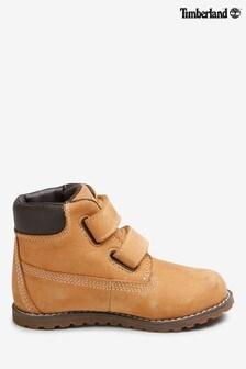 Timberland® Tan Nubuck Pokey Pine Boots