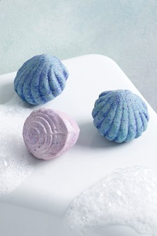 Set of 3 Miss Sparkle Mermaid Bath Fizzers