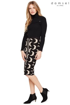 Damsel In A Dress Multi Izzy Geo Knit Skirt