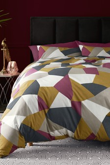 Deco Bold Geo Duvet Cover and Pillowcase Set