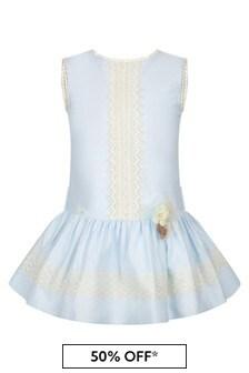 Miranda Blue Cotton Dress