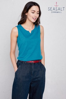 Seasalt Blue Fresh Air Vest