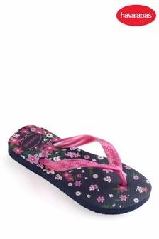 Havaianas® Kids Flores Print Flip Flop