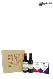 Red Wine Gift Set by Lanchester Gifts