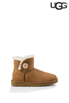 UGG® Mini Bailey Button II Chestnut Boots
