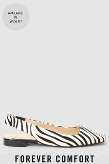 Туфли с ремешком через пятку и квадратным носом Forever Comfort®
